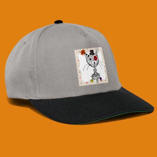 cat color - Snapback Cap