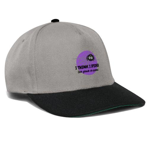 I think I spider! - Snapback Cap