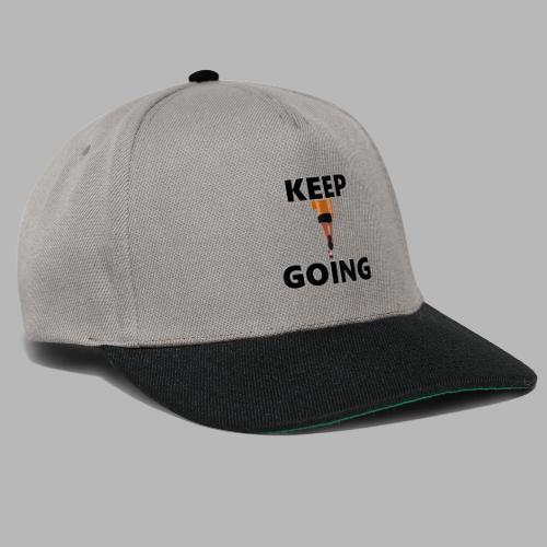 Keep going - Snapback Cap
