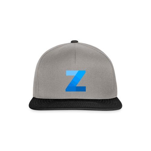 ZettaOS Blue Contrast - Snapback cap
