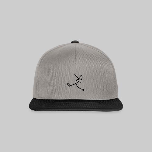 Strichmännchen - Snapback Cap