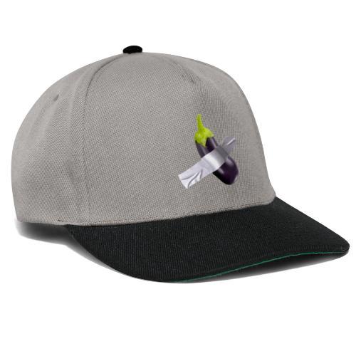 Eggplant art - Snapback Cap