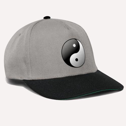 Yin Yang Symbol balance Print Sign - Snapback Cap