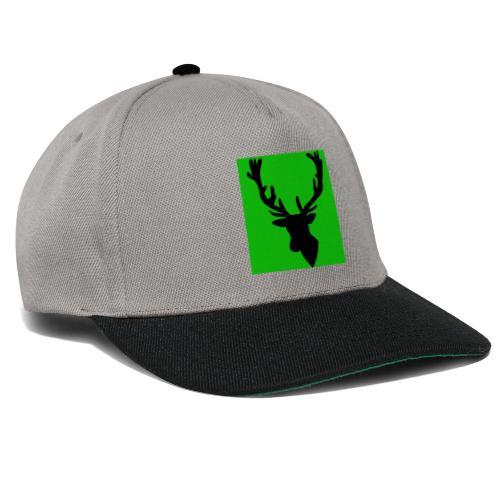 Hirch B GREEN UNIKAT - Snapback Cap