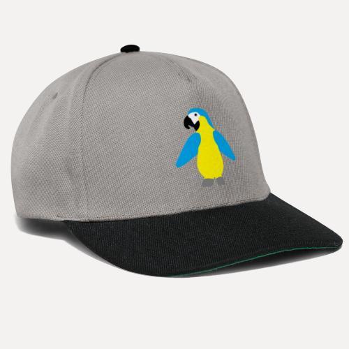 Gelbbrustara - Snapback Cap