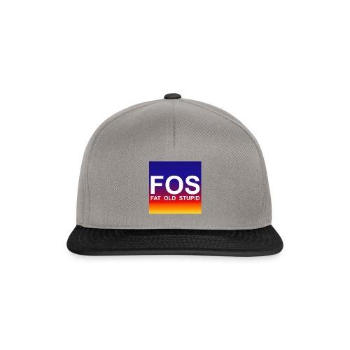 FOS - Fat Old Stupid - Snapback Cap