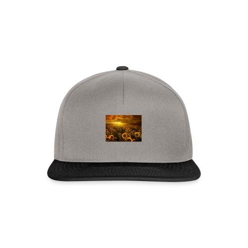 sunfl-png - Snapback Cap