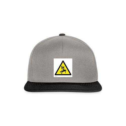 old drasticg logo - Snapback Cap