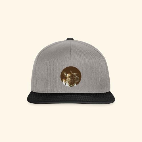 smart Bulldog round - Snapback Cap