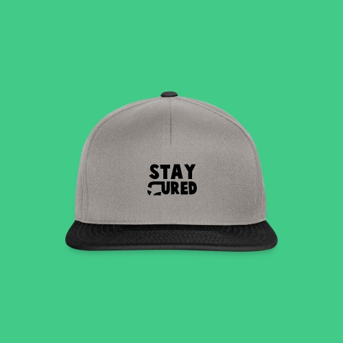 staycureddesign png - Snapback Cap