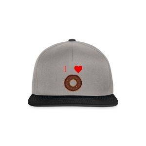 I ♥ donuts | T-shirt | Tiener/Man - Snapback cap