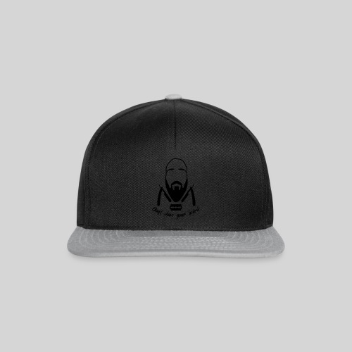 Don't shave your beard - Snapback Cap