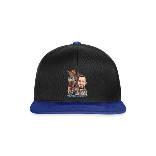 Pferde-Hoschi Kollektion hinten - Snapback Cap