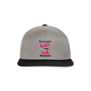 Lipstick and hustle - Snapback Cap