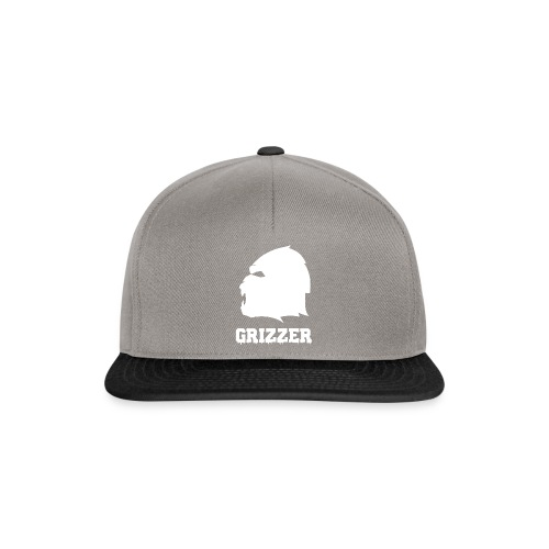 GRIZZER BLANC - Casquette snapback