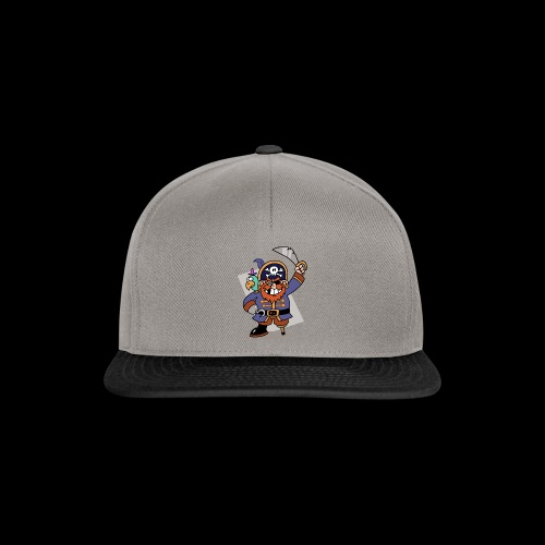 Pirat Zahnlücke mit Farbagallo - Snapback Cap