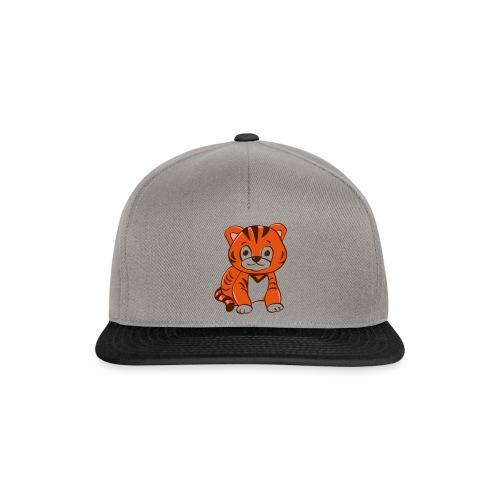 Bébé tigre orange et noir - Casquette snapback