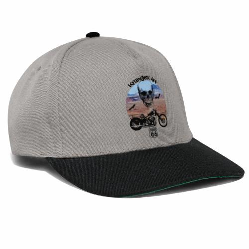 Skull Route - Snapback Cap