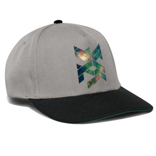 Galaxie Geometische Form - Snapback Cap