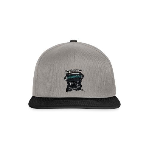 0807 M truck zwarter - Snapback cap