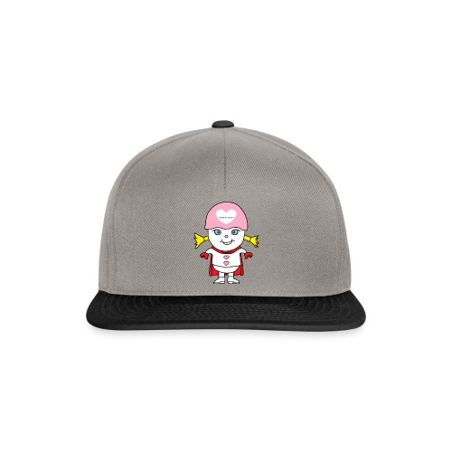 Superheld Mädchen - Snapback Cap
