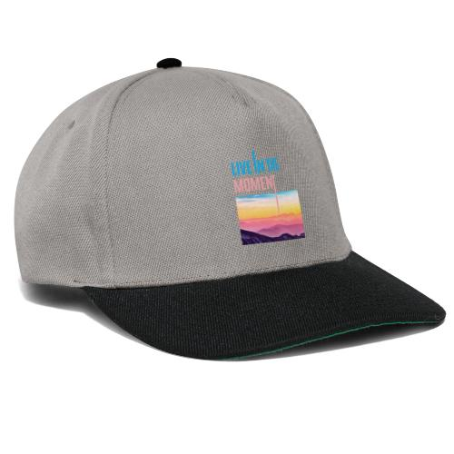 Live in the Moment - Snapback Cap