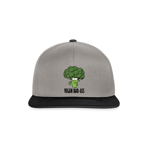 VEGAN BAD-ASS - Snapback Cap