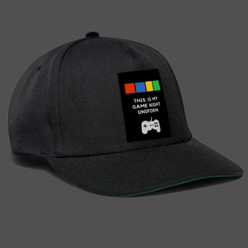 Game night uniform - Gorra Snapback
