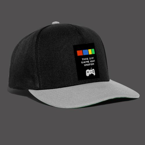 Game night uniform - Gorra Snapback