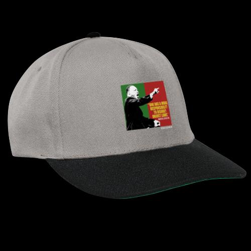 MARTIN LUTHER KING unjust laws - Snapback Cap