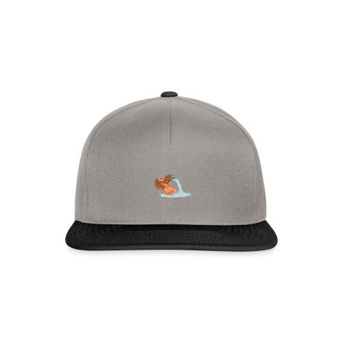 Bart Welle - lustiges Geschenk für Männer mit Bart - Snapback Cap