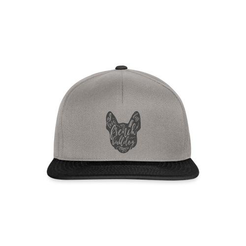 I love my French Bulldog - Snapback Cap