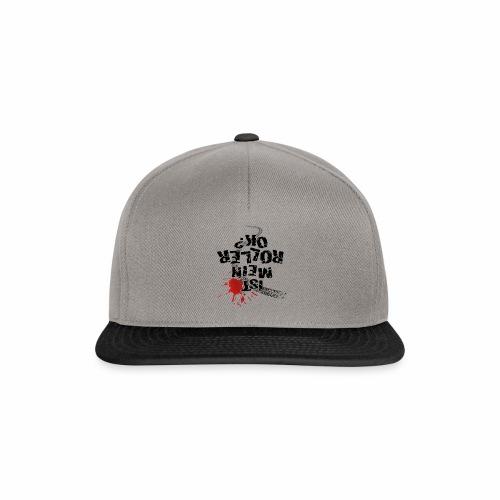 Ist mein Roller ok (schwarzer Text) - Snapback Cap