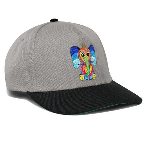 Happy Elephant - Snapback Cap