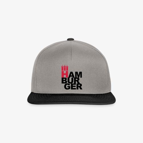 HAMBURGER 2c Hamburg Wappen - Snapback Cap