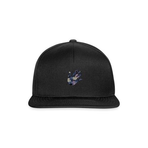 Exotic Flower Hand - Snapback Cap