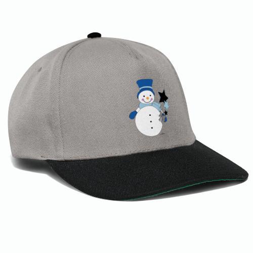 Snowtime-Blue - Snapback Cap