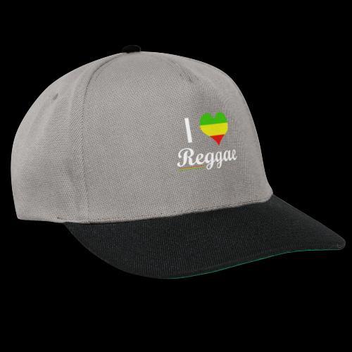 I LOVE Reggae - Snapback Cap
