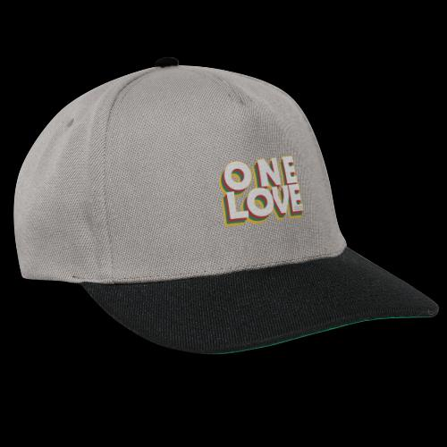 ONE LOVE - Snapback Cap