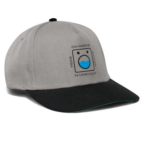 Wäsche Waschen - Snapback Cap