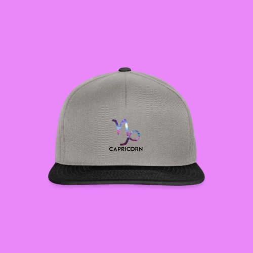 Capricorn star sign - Snapback Cap