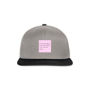 Vrouwen sweater - Snapback cap