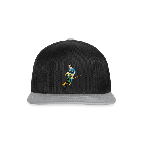 The Bicycle Girl - Snapback Cap