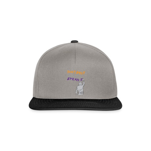 DON'T SAY IT SPRAY IT - Snapback Cap