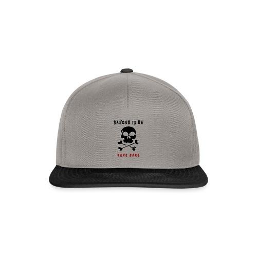 Danger - Snapback Cap