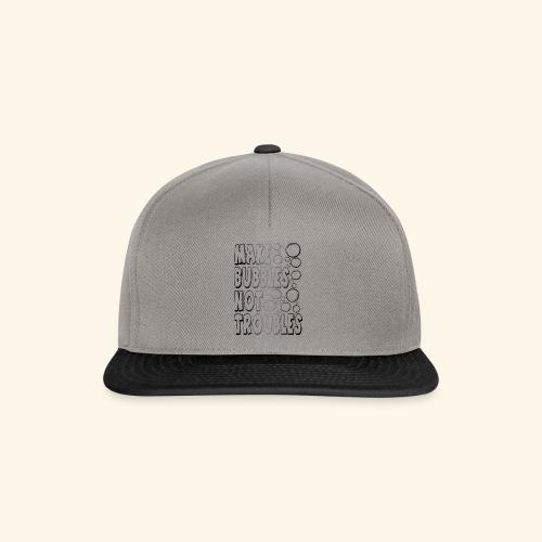Bubbles002 - Snapback cap
