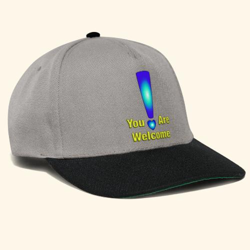 You are welcome2 - Snapback Cap