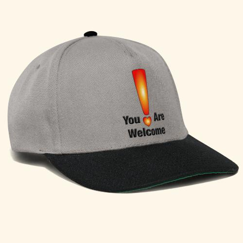 You are welcome1 - Snapback Cap