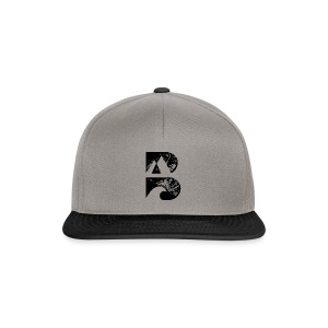 bstoked logo big - Snapback Cap