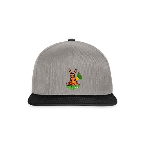 Rabbit with carrot - Snapback Cap